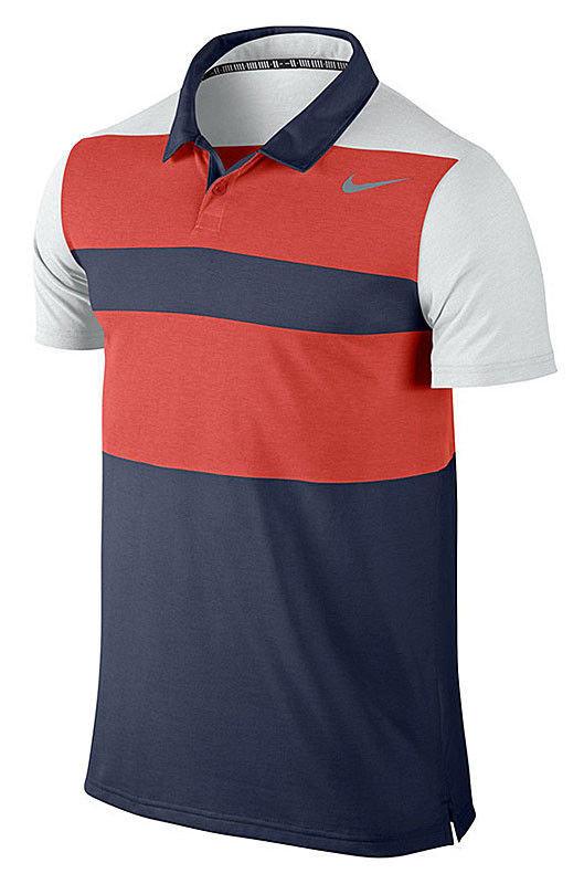 Nike, T shirt męski z krótkim rękawem, Dri Fit Touch Stripe