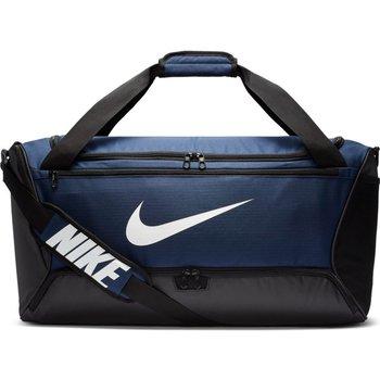 Nike, Torba sportowa, BA5955 410 Brasilia M Duffel, granatowy, 61x33x30cm-Nike