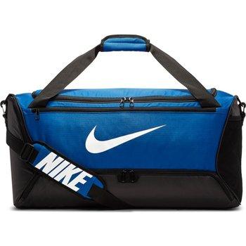Nike, Torba sportowa, BA5956 480 Brasilia M Duffel, niebieski, 61x33x30cm-Nike