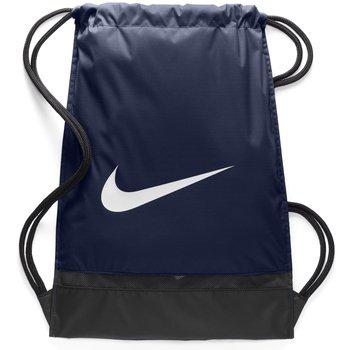 Nike, Worekn Brasilia Gymsack BA5338 410, granatowy-Nike