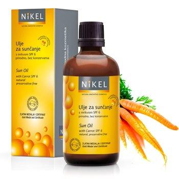 Nikel, olejek z marchewką tonujący skórę, SPF 6, 100 ml-Nikel
