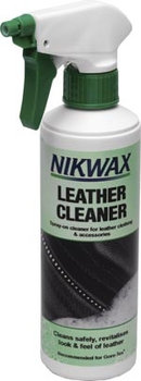 Nikwax, Środek czyszczący, Leather Cleaner Spray-On, 300 ml - NIKWAX