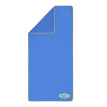 Nils Camp, Ręcznik frotte, NCR01, niebieski, 160x80 cm-Nils Camp