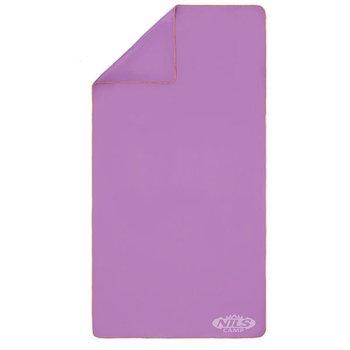 Nils Camp, Ręcznik z mikrofibry, NCR12, fioletowy, 180x100 cm-Nils Camp
