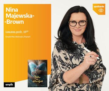 Nina Majewska-Brown   Empik Plac Wolności