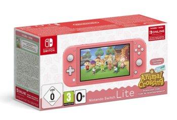 Nintendo Switch Lite + Animal Crossing + 3 miesiące Nintendo Online-Nintendo