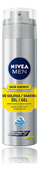 Nivea Men, żel do golenia Energy, 200 ml - Nivea Men