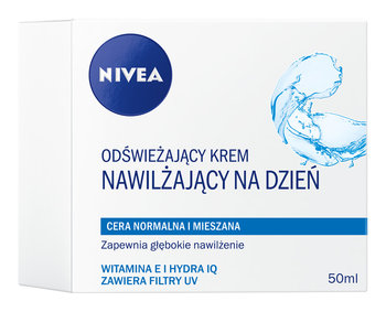 Nivea Visage, Aqua Effect, krem nawilżający na dzień, 50 ml-Nivea