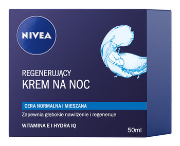 Nivea Visage, Aqua Effect, krem regenerujący na noc, 50 ml-Nivea