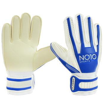 No10, Rękawice bramkarskie, Classic 56088, biały, rozmiar 8-No10