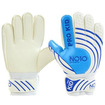 No10, Rękawice bramkarskie, Pro Kid 56091, biały, rozmiar 6-No10