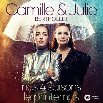 """Nos 4 Saisons - Les Quatre Saisons, Concerto pour violon en mi majeur, Op. 8 No. 1, RV 269 """"Le Printemps"""": I. Allegro-Camille Berthollet, Julie Berthollet"""