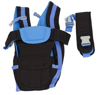 Nosidełko dla dzieci 4w1 0-30 msc niebieskie-KIK