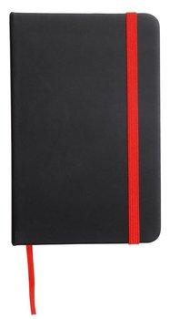 Notatnik czysty Lector, DIN A5, czarno-czerwony-UPOMINKARNIA