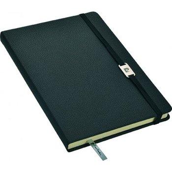 Notes w linie, A5 Pierre Cardin, czarny-Pierre Cardin