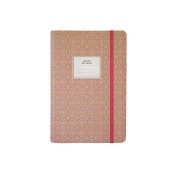 Notes z gumką, A5, różowy-incood