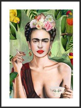 Nowoczesny Obraz Plakat A2 42x60 cm Frida / Fabryka Plakatu -Fabryka plakatu