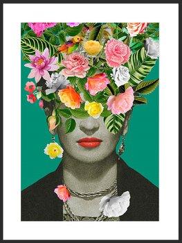 Nowoczesny Obraz Plakat B2 50x70 cm Frida / Fabryka Plakatu -Fabryka plakatu
