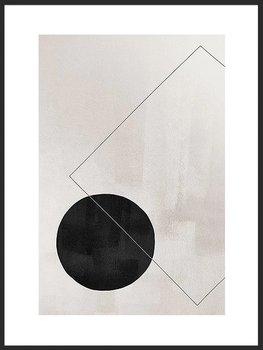 Nowoczesny plakat FABRYKA PLAKATU Abstrakcyjne Kształty A4, 21x30 cm-Fabryka plakatu