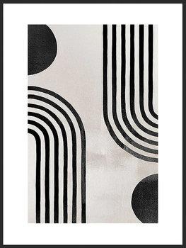 Nowoczesny plakat FABRYKA PLAKATU Abstrakcyjny Łuk A4, 21x30 cm-Fabryka plakatu