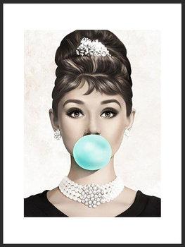 Nowoczesny plakat FABRYKA PLAKATU Audrey Hepburn B2, 50x70 cm-Fabryka plakatu