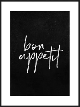 Nowoczesny plakat FABRYKA PLAKATU Bon Appetit B1, 70x100 cm-Fabryka plakatu