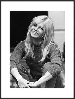 Nowoczesny plakat FABRYKA PLAKATU Brigitte Bardot A2, 42x60 cm-Fabryka plakatu