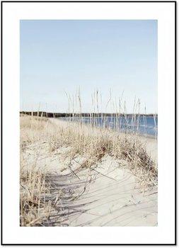 Nowoczesny plakat FABRYKA PLAKATU Droga nad Morze B2, 50x70 cm-Fabryka plakatu