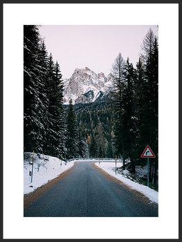 Nowoczesny plakat FABRYKA PLAKATU Droga w Góry B1, 70x100 cm-Fabryka plakatu