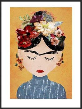 Nowoczesny plakat FABRYKA PLAKATU Frida A4, 21x30 cm-Fabryka plakatu