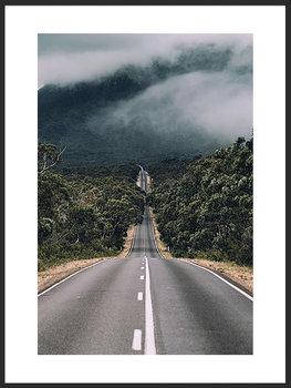 Nowoczesny plakat FABRYKA PLAKATU Góry A4, 21x30 cm-Fabryka plakatu