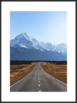 Nowoczesny plakat FABRYKA PLAKATU Góry Alpy A4, 21x30 cm-Fabryka plakatu