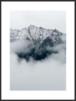 Nowoczesny plakat FABRYKA PLAKATU Góry Alpy B2, 50x70 cm-Fabryka plakatu