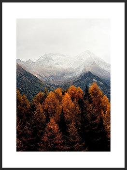 Nowoczesny plakat FABRYKA PLAKATU Jesień w Górach B2, 50x70 cm-Fabryka plakatu