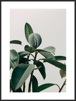 Nowoczesny plakat FABRYKA PLAKATU Listki A4, 21x30 cm-Fabryka plakatu