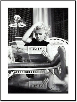 Nowoczesny plakat FABRYKA PLAKATU Marilyn Monroe A3, 30x42 cm-Fabryka plakatu