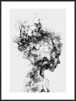 Nowoczesny plakat FABRYKA PLAKATU Rozpuść Myśli A2, 42x60 cm-Fabryka plakatu