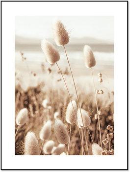 Nowoczesny plakat FABRYKA PLAKATU Trawa Pompasowa A4, 21x30 cm-Fabryka plakatu