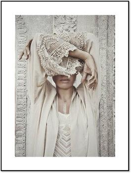Nowoczesny plakat FABRYKA PLAKATU Wojowniczka Kobieta Boho B1, 70x100 cm-Fabryka plakatu