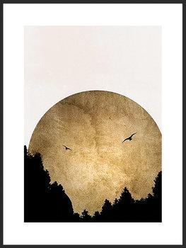 Nowoczesny plakat FABRYKA PLAKATU Zachód Słońca A4, 21x30 cm-Fabryka plakatu