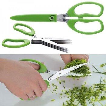 Nożyczki do szczypiorku BILBAO Zielony-UPOMINKARNIA