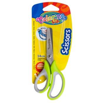 Nożyczki szkolne, colorino kids, mix kolorów-Patio