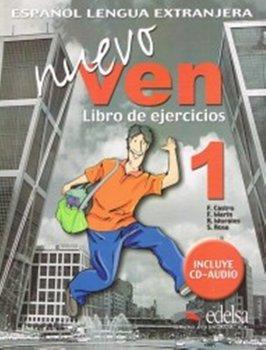 Nuevo Ven 1. Ćwiczenia + CD-Castro Francisca, Marin Fernando, Morales Reyes, De La Rosa Soledad