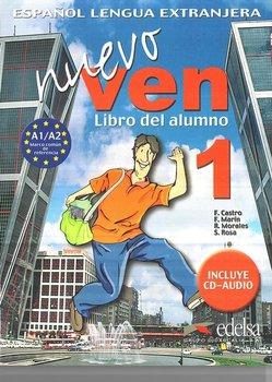 Nuevo Ven 1. Podręcznik + CD-Castro Francisca, De La Rosa Soledad, Morales Reyes, Marin Fernando