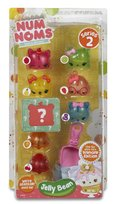 Num Noms, Deluxe Pack, figurki Jelly Bean Gift Box, seria 2.1