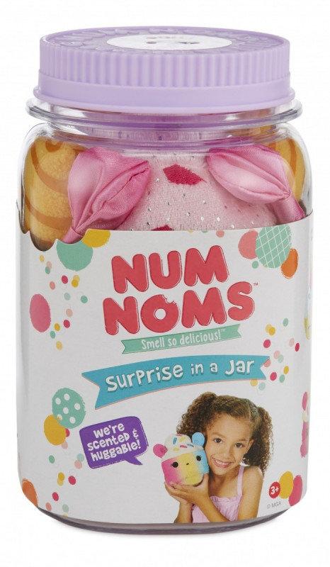 Num Noms, maskotka Niespodzianka w słoiku Bubbly Pop - MGA