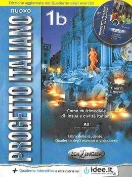 Nuovo Progetto Italiano. Język włoski. Podręcznik. A2 + DVD-Magnelli Sandro, Marin Telis