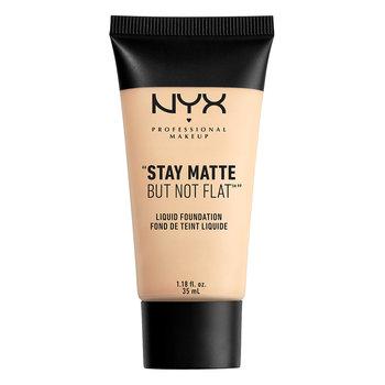 NYX, Stay Matte But Not Flat, matujący podkład w płynie SMF01 Ivory, 35 ml-NYX