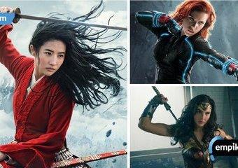 O wojowniczych kobietach w filmach