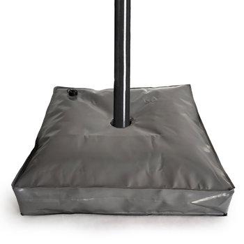 Obciążenie do parasola ogrodowego napełniane wodą GOODHOME, szare, 10 cm-Goodhome